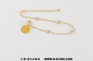D-ZIJNS GOLD PLATED CHAIN PIETERNEL